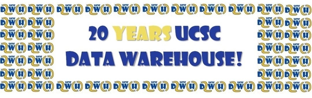 20 years UCSC Data Warehouse